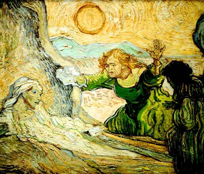 Jesus and Lazarus